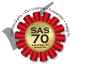 SAS 70 Level II Certified
